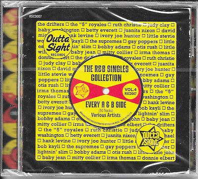 The R&B Singles Collection Vol 4 30 Track R&B/Soul Outta Sight CD New & Sealed
