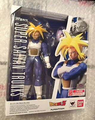 Bandai Tamashi Nations S.H. Figuarts Dragonball Z Super Saiyan Trunks MISB!