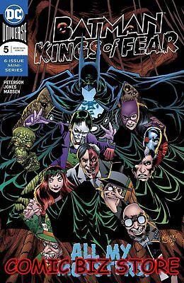 Batman Kings Of Fear #5 (Of 6) (2018) 1St Printing Bagged & Boarded Dc Universe