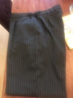Morning suit trousers 36r