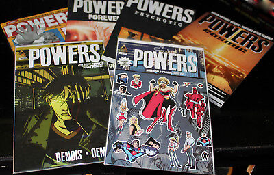 image powers lot soft cover books 3 7 9 10, 2 comic books graphic novel 26 24