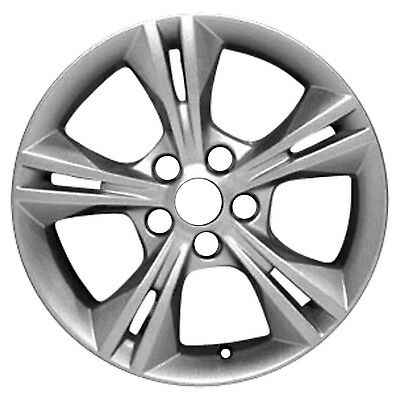 03878 New Compatible 16in Aluminum Wheel Fits Ford Focus 2011-14 Silver Metallic