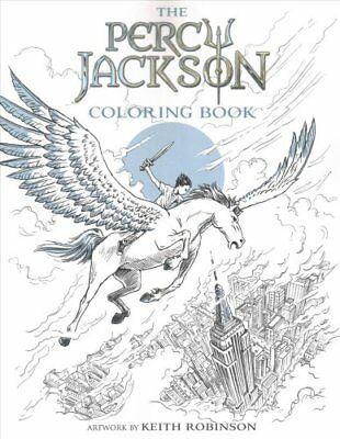 The Percy Jackson Coloring Book by Rick Riordan 9781484787793 (Paperback, 2017)