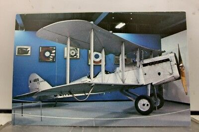 Ohio OH Wright Patterson Air Force Base DeHavilland DH4 Postcard Old Vintage PC