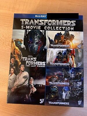 Transformers 5 Movie Collection (Blu-ray Boxset)