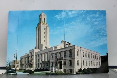 Rhode Island RI Pawtucket City Hall Postcard Old Vintage Card View Standard Post