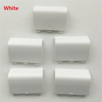 5 White Battery Back Cover Door Lid Replacement For XBOX One wireless Controller