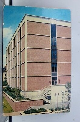 Rhode Island RI Brown University J Walter Wilson Laboratory Postcard Old Vintage