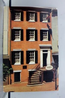 Washington DC Lincoln Museum House Postcard Old Vintage Card View Standard Post