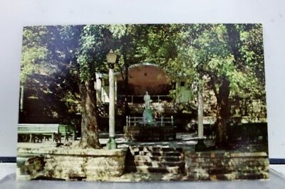 Arkansas AR Eureka Springs Basin Spring Park Postcard Old Vintage Card View Post