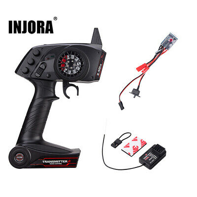 3CH Remote Control Receiver 10A Brushed ESC for 1/10 RC Rock Crawler Car Boat