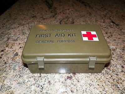 Us Military First Aid Kit 6545-00-922-1200 General Purpose - Great Condition