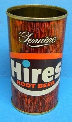 Vintage Rare Hires Division Beverages Root Beer Flat Top Can Evanston Illinois