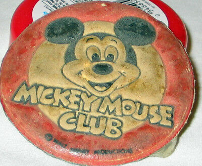 MICKEY MOUSE CLUB Medallion ORIGINAL 3""