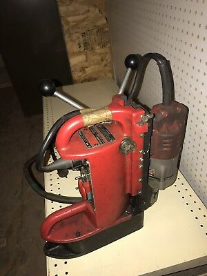 Milwaukee Electromagnetic Drill Press 4202 base with motor
