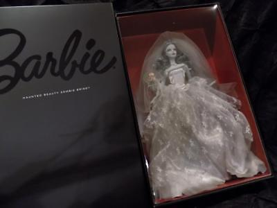 NIB/NRFB HAUNTED BEAUTY ZOMBIE BRIDE DOLL- BARBIE COLLECTOR- Gold Label  #CHX12