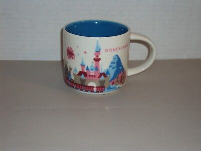 Disney Parks Starbucks Disneyland You Are Here 1st Edition Castle Mug Cup