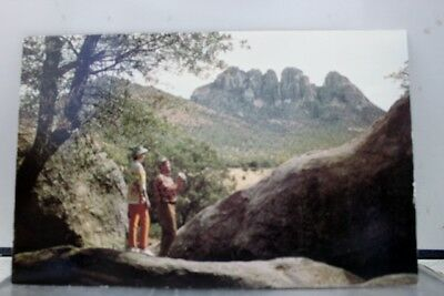 Texas TX Fort Davis Sawtooth Mountain Postcard Old Vintage Card View Standard PC