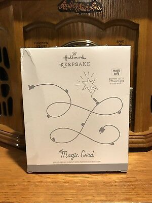 Hallmark ~ Keepsake Ornament Magic Power Cord