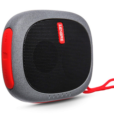 Bluetooth Speakers, ZENBRE D3 Mini Wireless Speaker with 20 Hours Play Time NEW