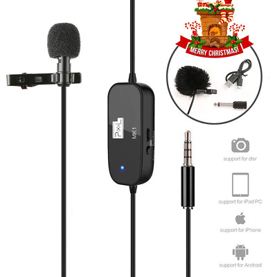 "Lapel Microphone 236"" Professional Grade Clip On Omnidirectional Pick NEW US"