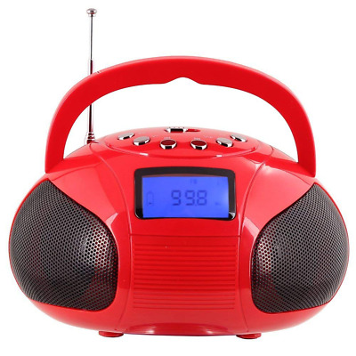 Radio Speaker, Mini Bluetooth MP3 Stereo System Portable with Powerful Speaker