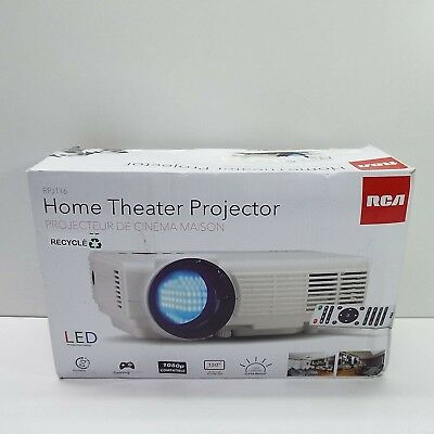 RCA HOME THEATER Projector Full HD 1080P RPJ116-PLUS (LOOK