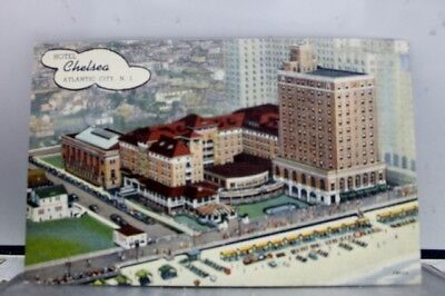 New Jersey NJ Atlantic City Hotel Chelsea Postcard Old Vintage Card View Post PC