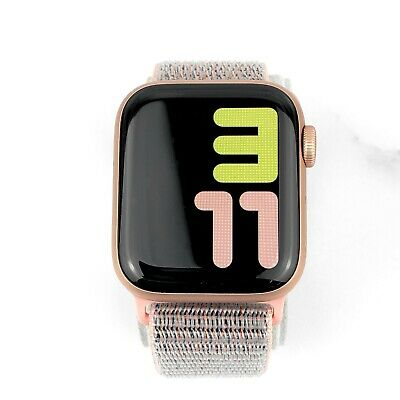 wholesale dealer 300b3 3245a APPLE WATCH SERIES 4 40 mm Gold Aluminum Pink Sand Sport Loop GPS + Cellular