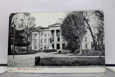 North Carolina NC Raleigh State Capitol Postcard Old Vintage Card View Standard