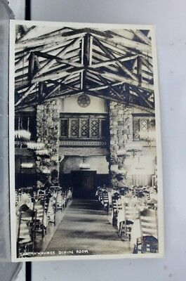 Scenic Ahwahnee Dining Room Postcard Old Vintage Card View Standard Souvenir PC