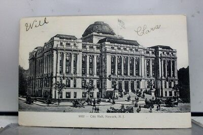 New Jersey NJ Newark City Hall Postcard Old Vintage Card View Standard Souvenir