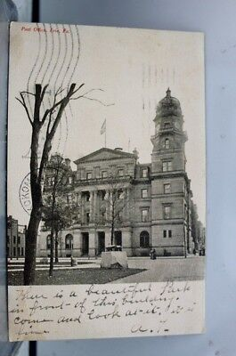Pennsylvania PA Post Office Erie Postcard Old Vintage Card View Standard Post PC