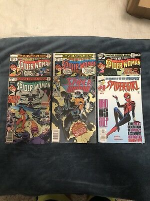 Spider-Woman Comic Book Lot