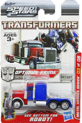 Transformers Optimus Prime | Hasbro Speed Stars Limited Edition | 1:64 Rarität