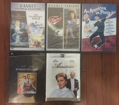 Lot of 7 Classic movies (5 dvd's)