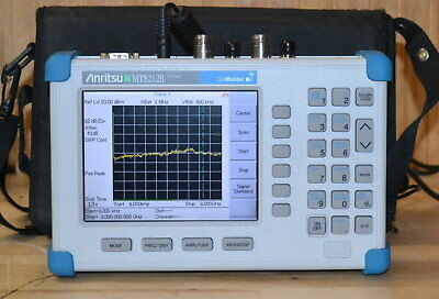 Anritsu MT8212B Cell Master Cable/Antenna/Base Station Analyzer to 4GHz LOADED