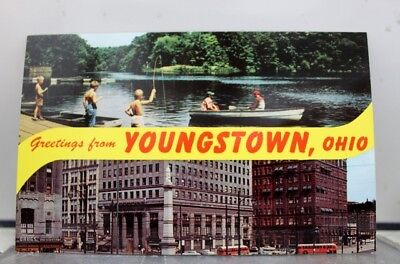 Ohio OH Youngstown Postcard Old Vintage Card View Standard Souvenir Postal Post