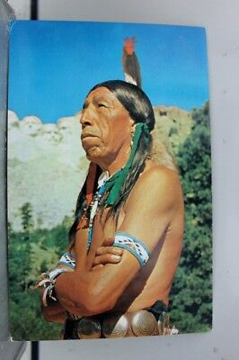 Scenic Magic Mountain Indians Postcard Old Vintage Card View Standard Souvenir