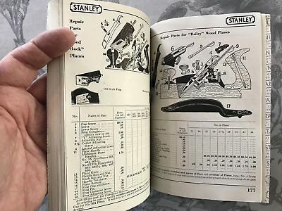1947 Stanley Tool Catalog #34 -excellent reference - 27 categories 200 pages