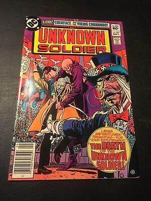 Unknown Soldier #267 (Sep 1982 Dc) Bob Haney Story Vf!