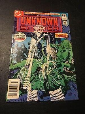 Unknown Soldier #268 (Oct 1982 Dc) Last Issue Bob Haney Story Fn+!