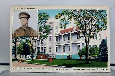 Arkansas AR Arsenal Building Little Rock Postcard Old Vintage Card View Standard