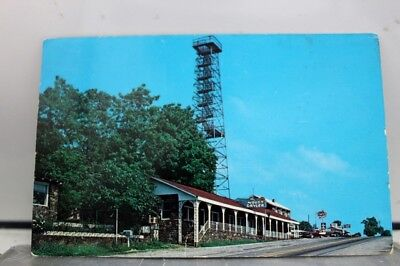 Arkansas AR Mount Gaylor Tower Boston Mountains Postcard Old Vintage Card View