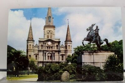 Louisiana LA St Louis Cathedral New Orleans Postcard Old Vintage Card View Post