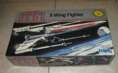 1979 Mpc Star Wars Return Of The Jedi X-Wing Fighter Model Kit Mint In Box