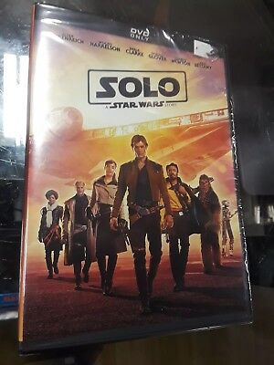 Solo: A Star Wars Story DVD *AUTHENTIC, BRAND NEW FACTORY SEALED, W/DISNEYPOINTS