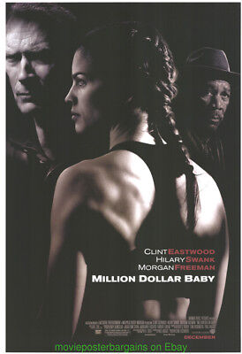MILLION DOLLAR BABY MOVIE POSTER Original DS 27x40 CLINT EASTWOOD Best Picture !