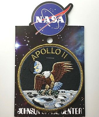 NASA APOLLO 11 MISSION PATCH Official Authentic SPACE