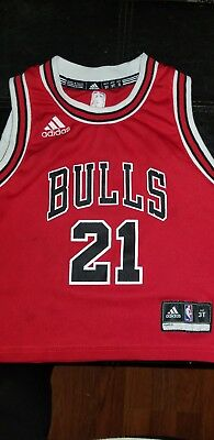 36a5fc67f Chicago Bulls Jimmy Butler 21 NBA Adisas Red Jersey Kids (Toddler 3T)
